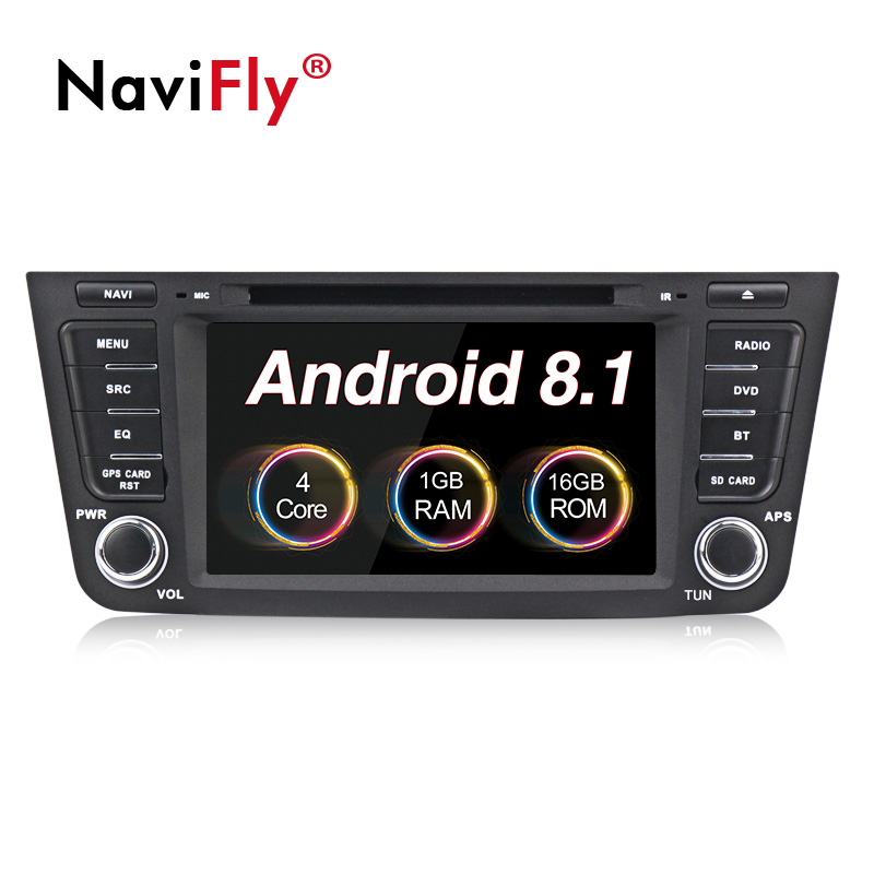 NaviFly Quad-core Android 8.1 sistema car radio audio player para Geely Emgrand GX7 EX7 X7 gps do carro com navi dvd plarer FM WI-FI