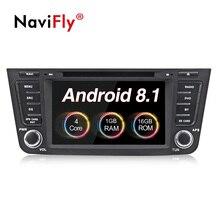NaviFly Quad-core Android 8.1 sistema di auto radio lettore audio per Geely Emgrand GX7 EX7 X7 gps per auto con dvd plarer FM navi WIFI