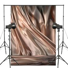 Abstract Khaki Photography Backdrop Satin Background Photo Studio Props Wall 5x7ft Cloth Backdrop 5x7ft wood wall vinyl photography backdrop photo background studio props high quality new best price