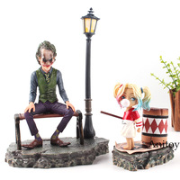 DC Comics Figure Suicide Squad Harley Quinn & Joker Action Figure Hot Toys PVC Decoration Home Collection Model Toys Dolls
