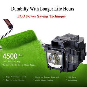 Image 2 - Hohe Qualität ELPLP78/V13H010L78 Ersatz projektor lampe mit Gehäuse für EPSON EB 945/X24/965/S17/ s18/EH TW410 EB X200 H552B