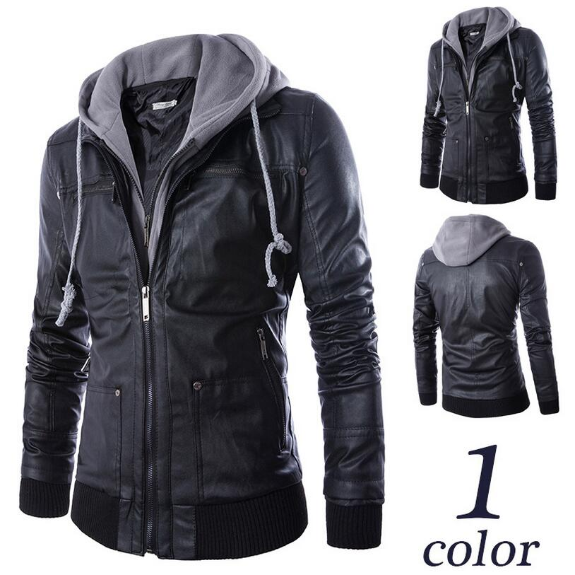 7e747b3609f9 Russian real Winter Thick Leather Garment Business Casual Leather ...