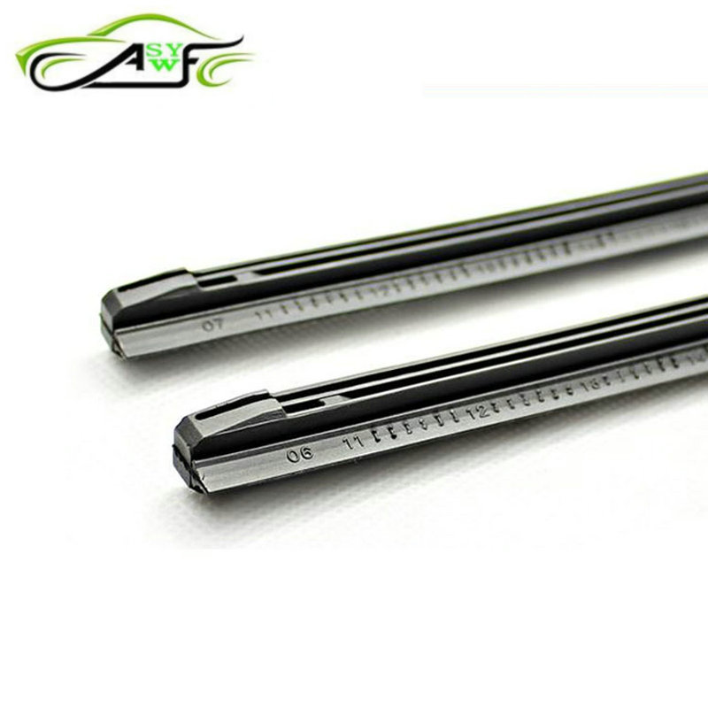 2 Piece Car Wiper Blade Windscreen Strips Soft Rubber Size 8mm 14