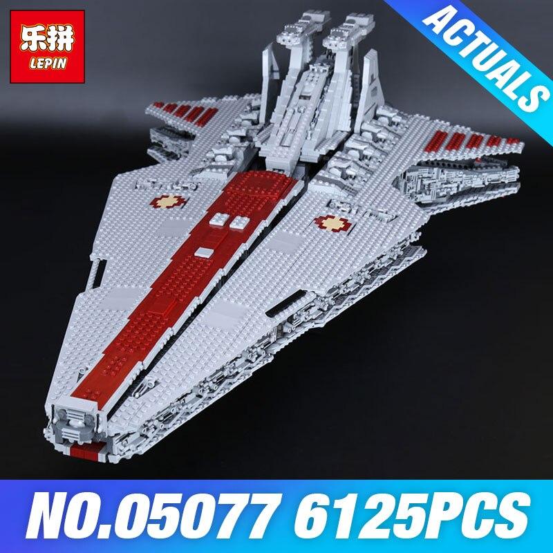 DHL Lepin 05077 La NGC Rupblic Star Destroyer Plan Cruiser ST04 Ensemble Wars Blocs de Construction Briques Pour L'éducation de BRICOLAGE Jouets Pour Enfants
