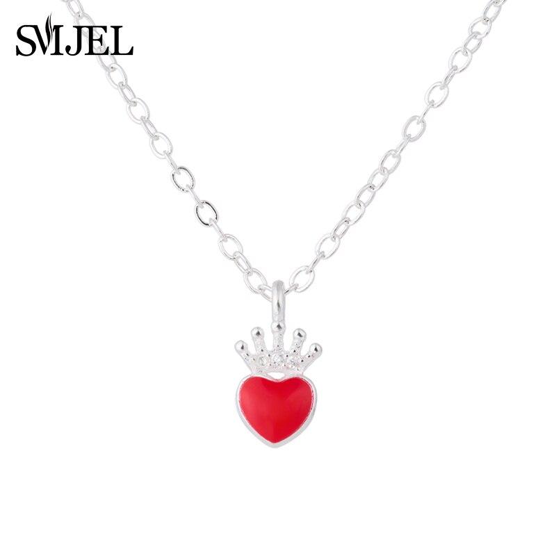 Evie Necklace Descendants Red Heart