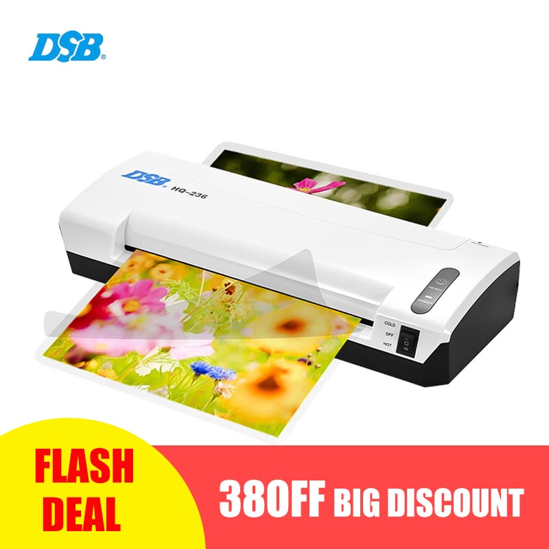 A4 Photo Laminator Hot Cold Laminator Fast Speed Film Laminating Plastificadora Machine Laminating W/ Free Paper Trimmer Cutter mini professional thermal office hot and cold laminator machine a4 document photo blister packaging plastic film roll laminator