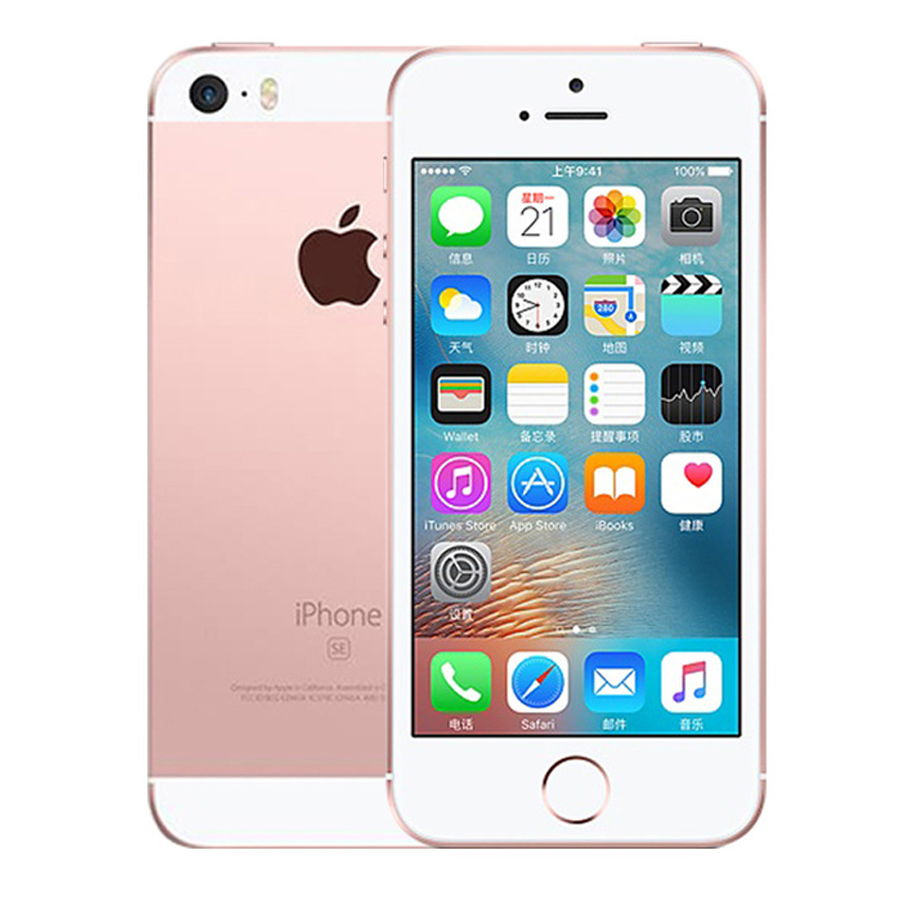 Original Unlocked Apple iPhone SE 2GB RAM 16G/32G/64GB ROM Mobile Phone A9 iOS 9 Dual Core 4G LTE 4.0'' Fingerprint Smartphone