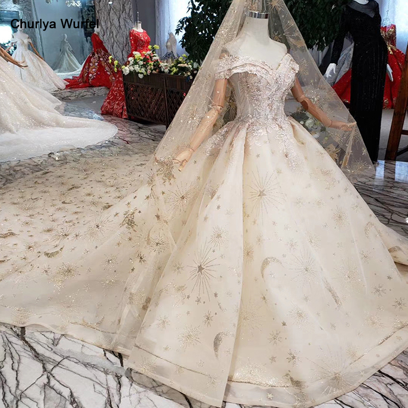 HTL153 luxury material wedding dresses with wedding veil spacial sweetheart shiny handmade bride dress wedding gown new fashion