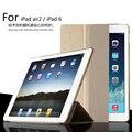 Для Apple iPad Air2 9.7 дюймов Смарт Сна Чехол, ультра Тонкий Дизайн Таблетки Кожаный Чехол Для iPad 6 Случае
