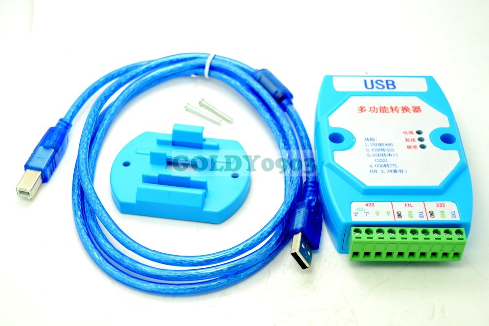 USB TO RS422 RS485 RS232 TTL CONVERTION ADAPTER 180cm usb to 485 422 cable converter adapter rs485 to usb2 0 serial communication cables rs422 ftdi chipset