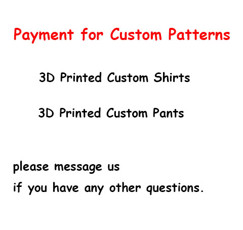 Custom 3 Digital Printing and Sewing Shirts and Pants from Your Pattern Design Files Custom Cosplay Costumes