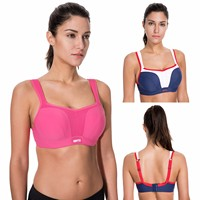 La Isla Women S High Impact Underwire Maximum Support Molded Cups Sports Bra