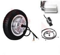 9 500W 36v single shaft electric wheel motor electric scooter motor kit electric skateboard conversion kit