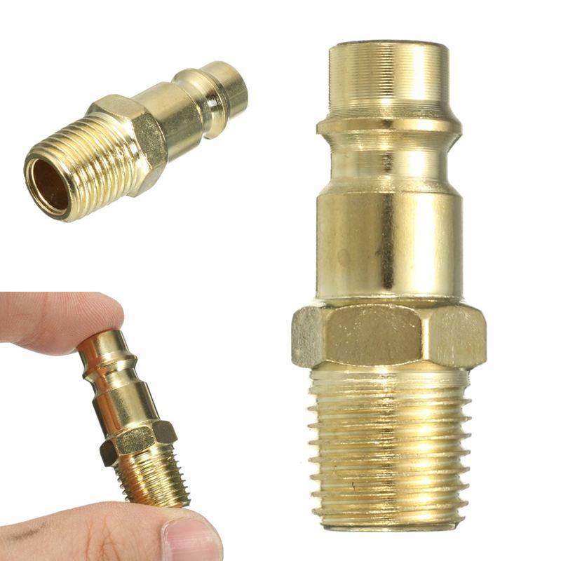 1X быстроразъемный инструмент евро 1/4 BSP воздушный шланг фитинг муфта адаптер закалка стальной коннектор компрессора