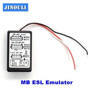 Эмулятор JINOULI MB esl для mercedes для BENZ W202/W208/W210/W203/W211/ W639/MB ESL Эмулятор Бесплатная доставка