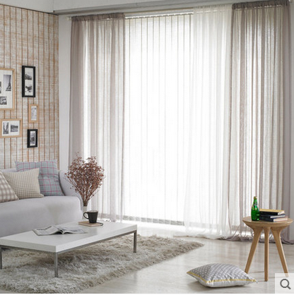 1PC 6 Color Contracted And Modern Window Curtains For The Bedroom Fancy  Adult Curtains For Living Room Can Be Customized