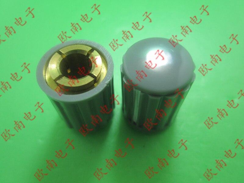 [VK] Potentiometer adjustment knob hat handle KYZ20-16-4J 6J copper core aperture 4MM 6MM switch
