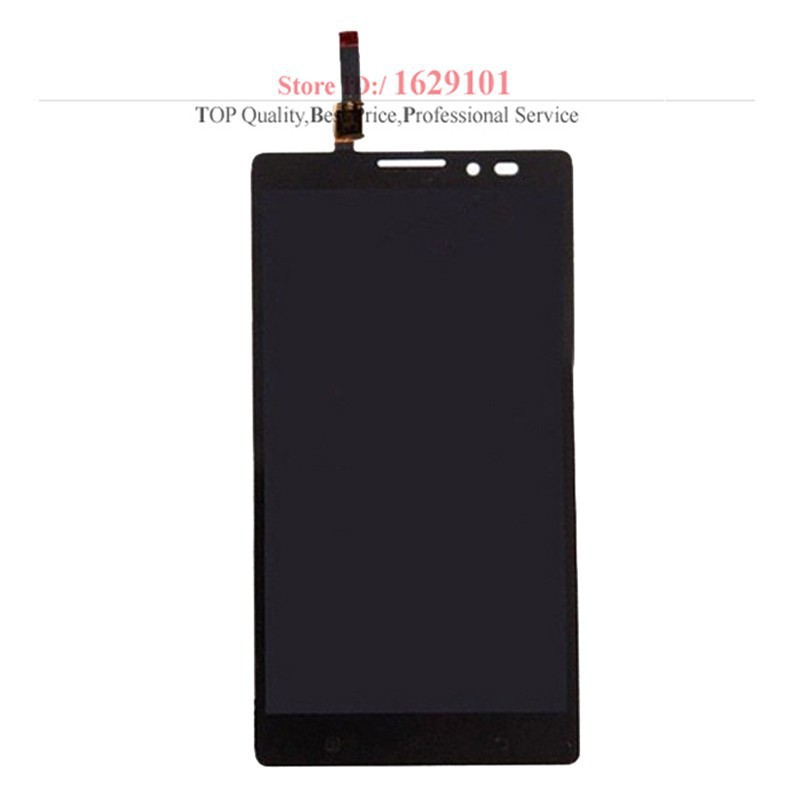 Подробнее о Black High Quality Full LCD Display Touch Screen Digitizer Assembly For Lenovo VIBE Z K910 Replacement wholesale high quality black touch screen digitizer lcd display full assembly for lenovo s650 replacement parts free shipping