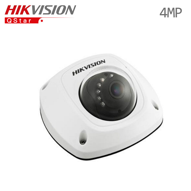 Hikvision Original English CCTV Camera DS-2CD2542FWD-IS 4MP WDR Mini Dome IP Camera IP67 POE built in microphone