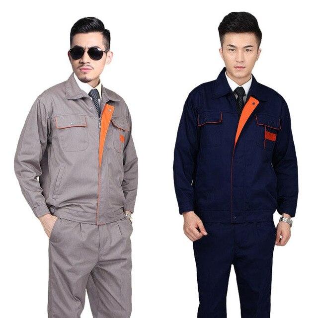 3a96c5cd Ropa de trabajo para hombre manga larga hombres mujeres fábrica de trabajo  de ingeniería ropa de