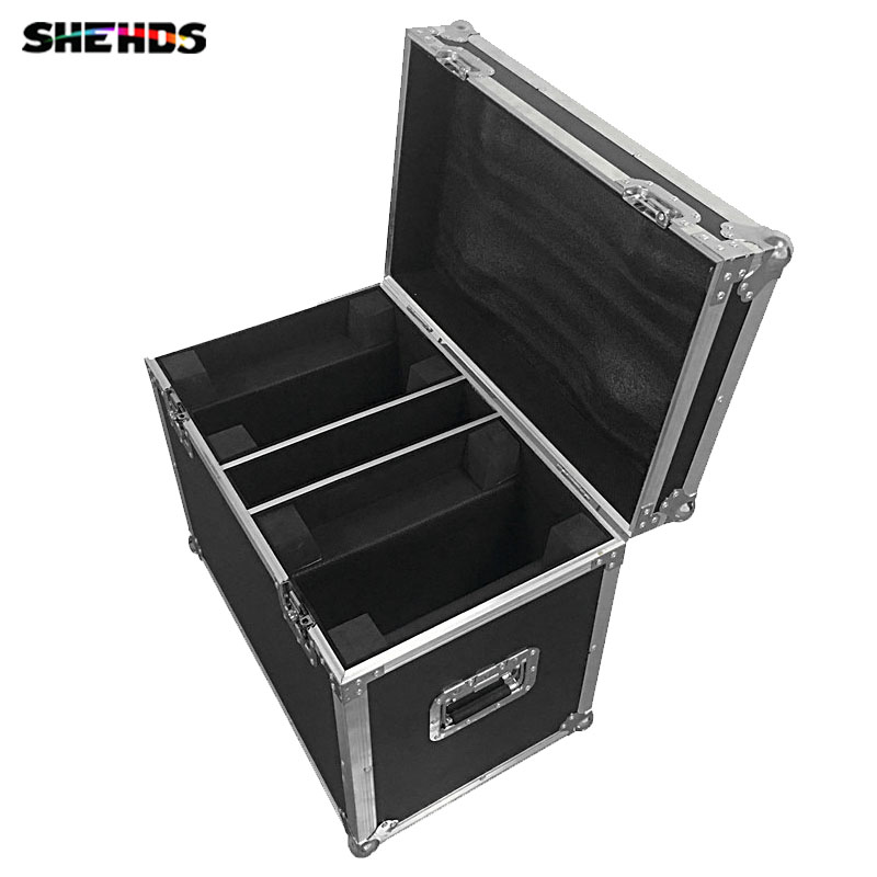 Flight Case With 2/4 Pieces LED 4x25W Super Beam Moving Head Light Perfect Effect For DJ Party Lighting,SHEHDS Stage Lighting