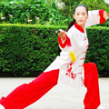 Chinese Tai chi clothing Martial arts uniform taiji outfit kungfu clothes embroidery for women men children boy girl kids adults