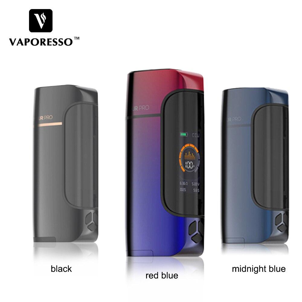 D'origine Vaporesso Armure Pro 100 w Vaporisateur Mod Cigarette Électronique Boîte Mod Fit Cascade Bébé Réservoir 0.002 s vitesse de tir VS Vengeur