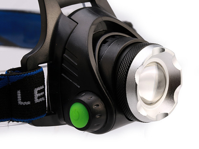 CREE XM-L T6 4000LM LED Headlamp Headlight 18650 flashlight head light lamp +2×18650 Battery+car charger+ EU/US charger