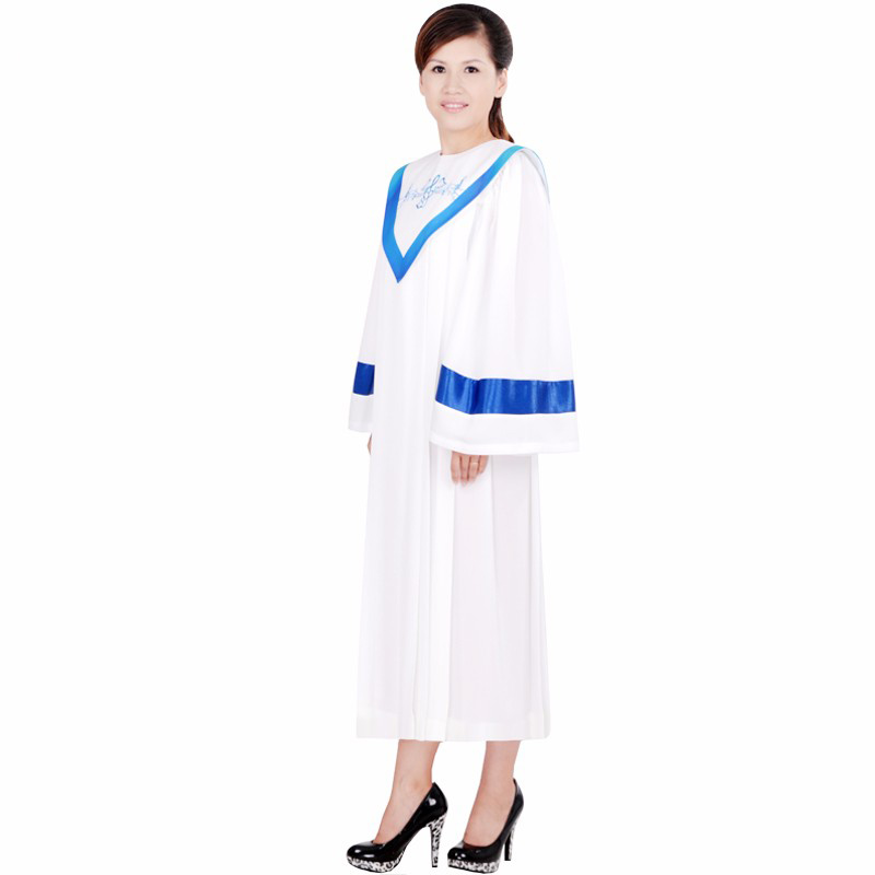 Купить с кэшбэком Christian clothing poetry choir robe clothes clothing garments church choir costume High quality Christian Robe Outfit