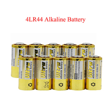 10pcs 6V 4LR44 Primary Dry Batteries Alkaline Remote control toy calculatorA5