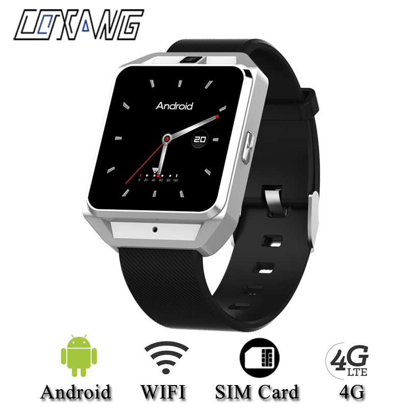 Смарт часы COXANG H5 с четырехъядерным процессором Android 6,0, 4G, Wi Fi, 650 мАч, GPS, Смарт часы, sim карта, вызов Bluetooth, музыкальный смартфон