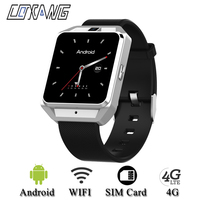 COXANG H5 Android 6.0 Quad core Smart Watch Phone 4G WIFI 650Mah GPS Smartwatch SIM Card Dail Call Bluetooth Music Smart Phone