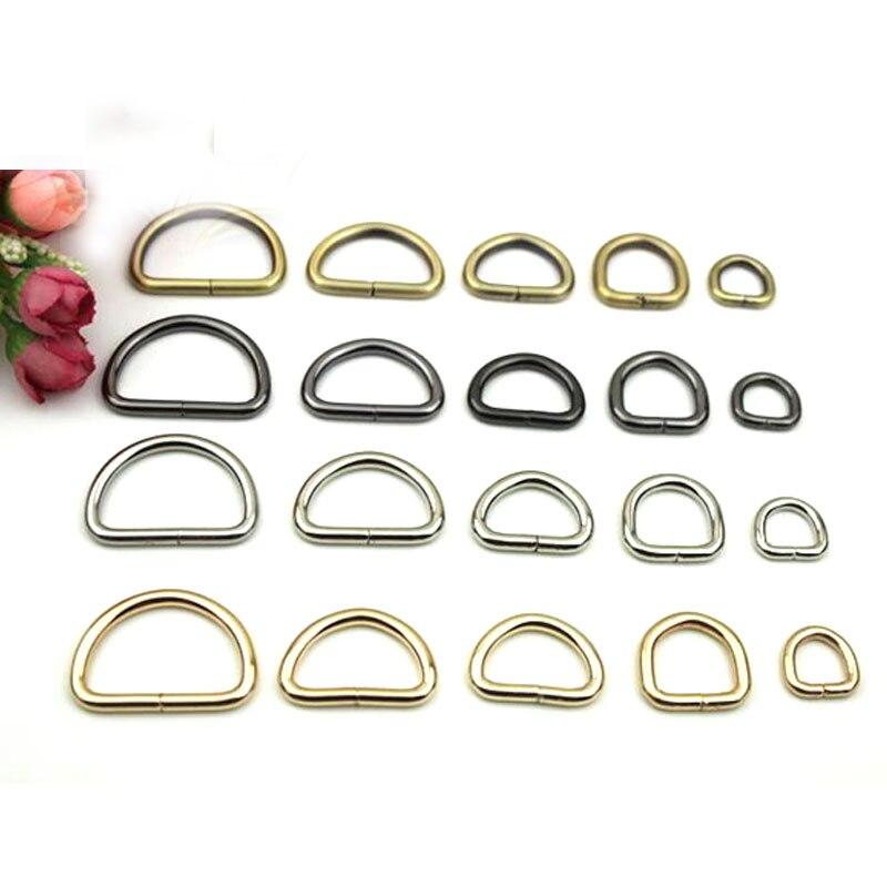 20mm D Ring Metal Handbag Hardware Findings, Silver Black Brass 3/4 3.0mm thick metal ring holder for smartphones silver