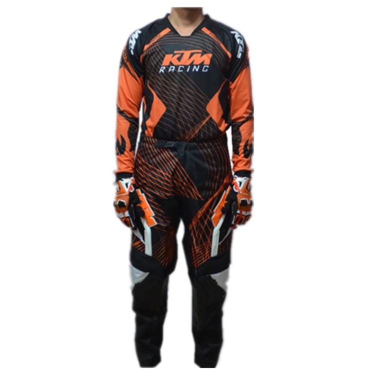 KTM de Motocross de los hombres trajes de off road MTB DOWNHILL jerseys de Carreras Con