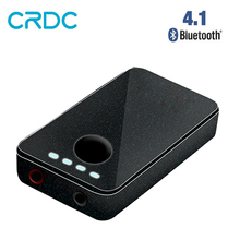 CRDC 2 in 1 Bluetooth Transmitter Receiver 3.5mm Aux Audio Music Wireless / Bluetooth Receiver for TV Car Headphone Speaker