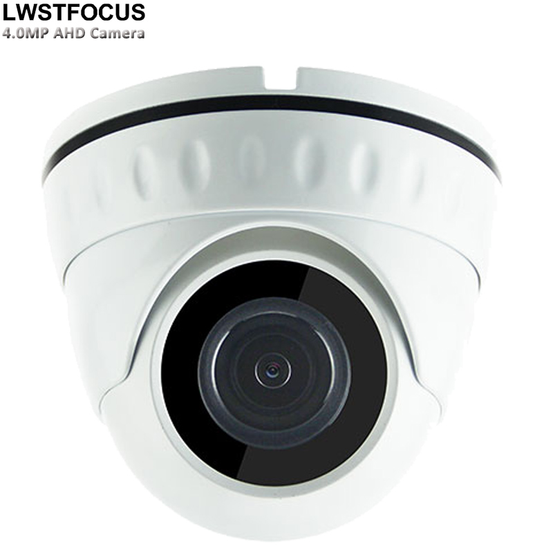 все цены на Metal Housing 4MP AHD Camera Dome camera AHD 2560*1440 Vandalproof AHD Camera Indoor Dome Security Camera CCTV Cam with 5MP Lens