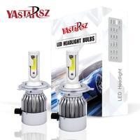 Car Light 2Pcs H4 LED H7 H11 H1 H3 9005 9006 Auto Car Headlight 72W 8000LM