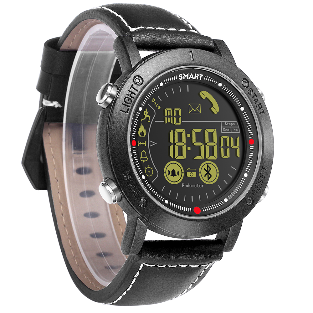 Bluetooth Smart Watch Men Sport pedometer Waterproof Call Reminder digital men SmartWatch Wearable Devices For ios Android Phone