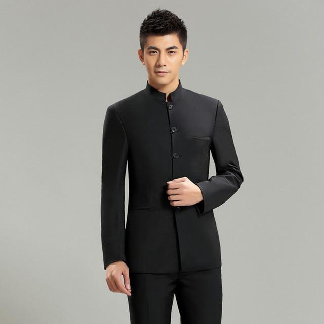 Conjunto de trajes casuales elegantes para hombre 496d55ff195f