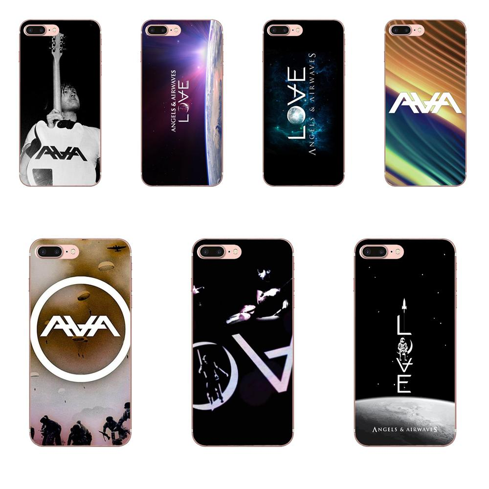 For Apple iPhone X XS Max XR 4 4S 5 5C 5S SE 6 6S 7 8 Plus TPU Soft Phone Accessories Cover Case Angels And Airwaves Love