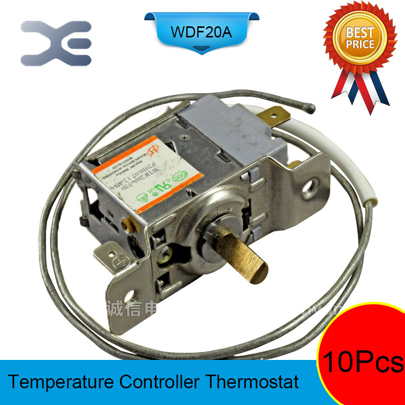 10Pcs Refrigerator Parts Thermostat Frigo Repairing Refrigerators Thermostat For Refrigerator WDF20A-550 250V цена