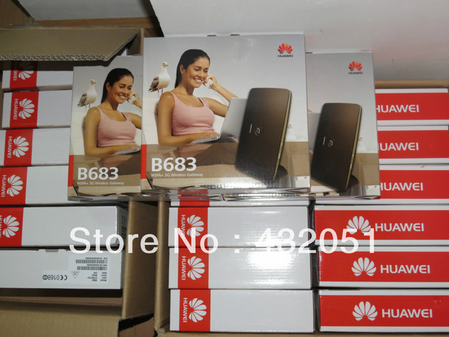 Huawei B683 HSPA + Router 28.8 Mbps sem fio UMTS 3 G Mobile Router Wi Fi