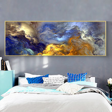 art prints modern cloud abstract paintings posters and prints wall art(China)