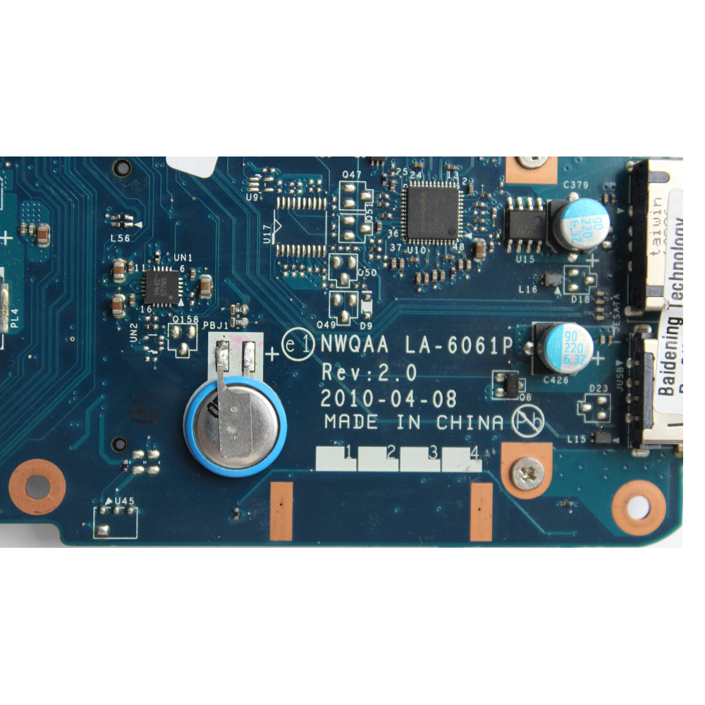 YTAI NWQAA LA-6061P for Toshiba Satellite A660 A665 laptop motherboard K000104250 NWQAA LA-6061P REV:2.0 HM55 DDR3 mainboard nokotion la 6062p rev 2 0 k000104430 for toshiba satellite a660 a665 laptop motherboard hm55 geforce gt330m