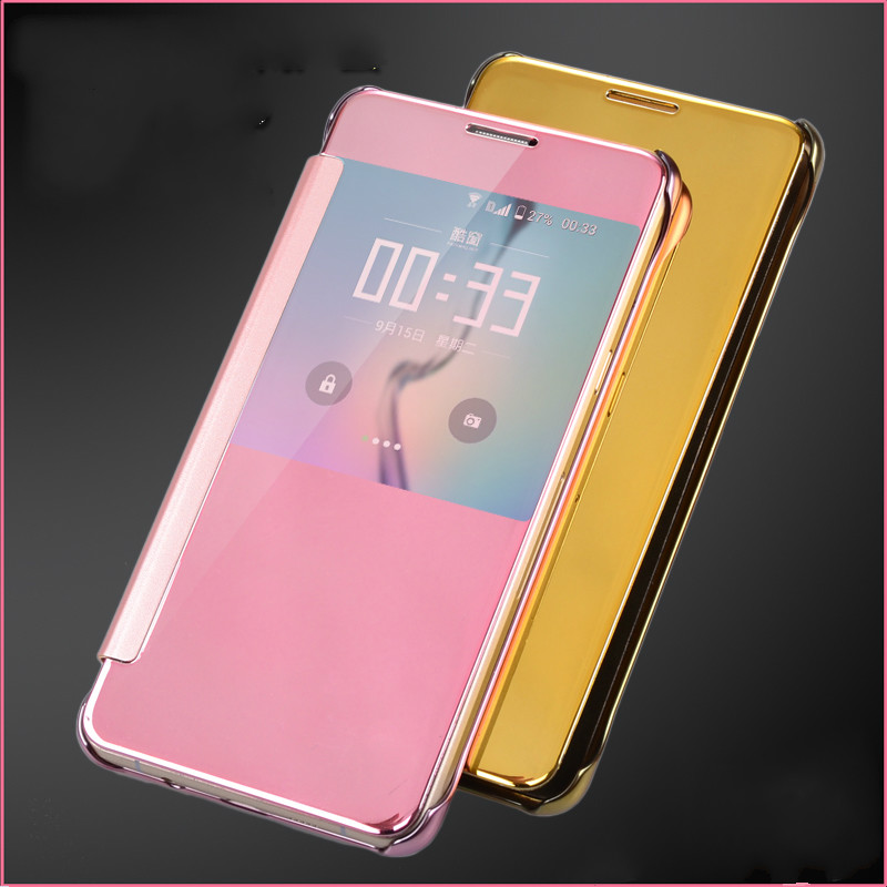 size 40 c4f4c e5239 US $8.99  2016 New Fashion For Samsung A9 Phone Case,Leather + Hard Plastic  Flip Plating Mirror Case for Samsung Galaxy A9 Slim Cover on ...
