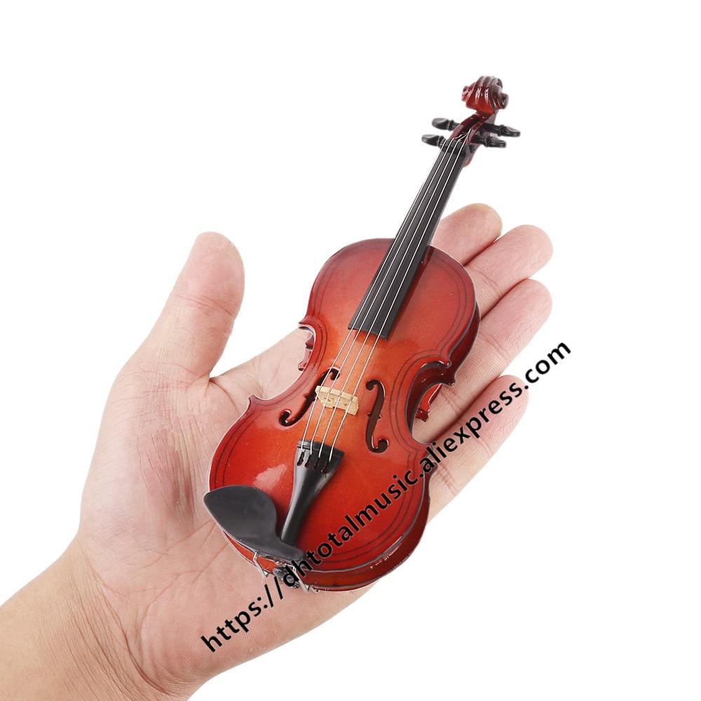 Персонализированная искусственная кожа с поддержкой миниатюрных деревянных музыкальных инструментов, коллекция, декоративные индивидуал...