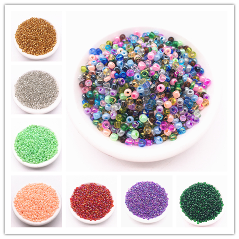Jewelry & Accessories Beads Alert Wholesale 2mm,3mm,4mm Crystal Spacer Czech Glass Seed Beads For Jewelry Making Handmade Diy Earring Necklace Charms Strong Resistance To Heat And Hard Wearing