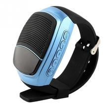Wireless Speaker Support TF/SD Card Wearable Bluetooth Time Display Handfree Call Watch