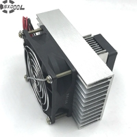 Free Shipping Peltier Specials In Semiconductor Electronic Refrigeration Small Air Condition DIY Mini Air Conditioner