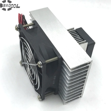 Free Shipping!Peltier Specials in semiconductor electronic refrigeration small air-condition DIY mini air conditioner